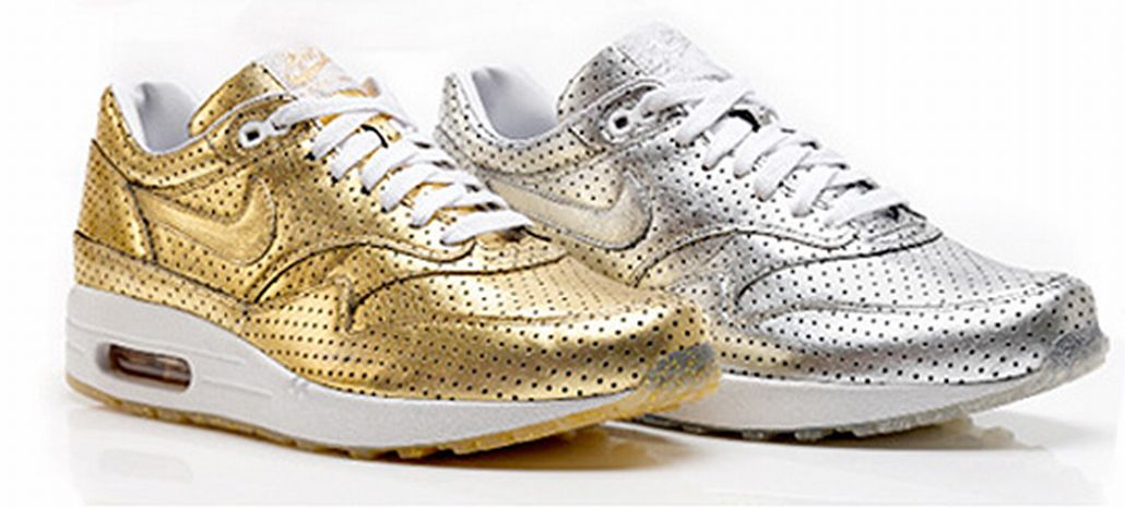 separation shoes 7edaa 1ac46 ... discount code for special features nike air max 1 olympic perforated  metallic pack d9ce0 96be4