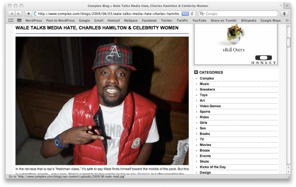wale x complex
